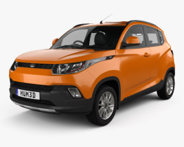 3D model of Mahindra KUV 100 2015