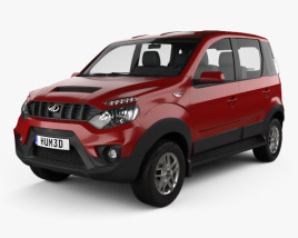 3D model of Mahindra NuvoSport 2016