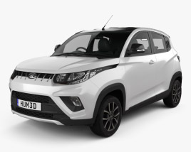 3D model of Mahindra KUV 100  2018