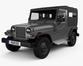 3D model of Mahindra Thar 2010