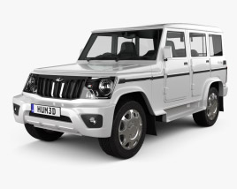 3D model of Mahindra Bolero 2020