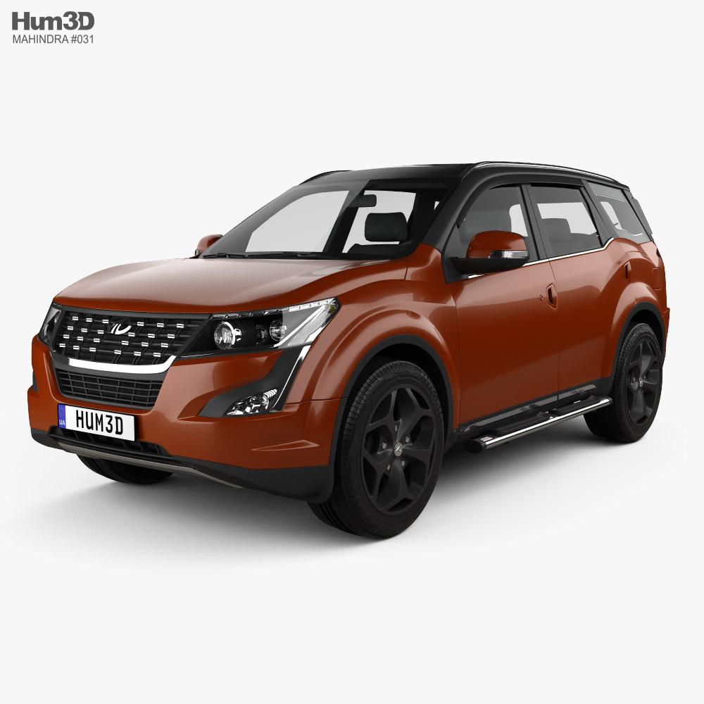 Mahindra XUV500 2019 3D model