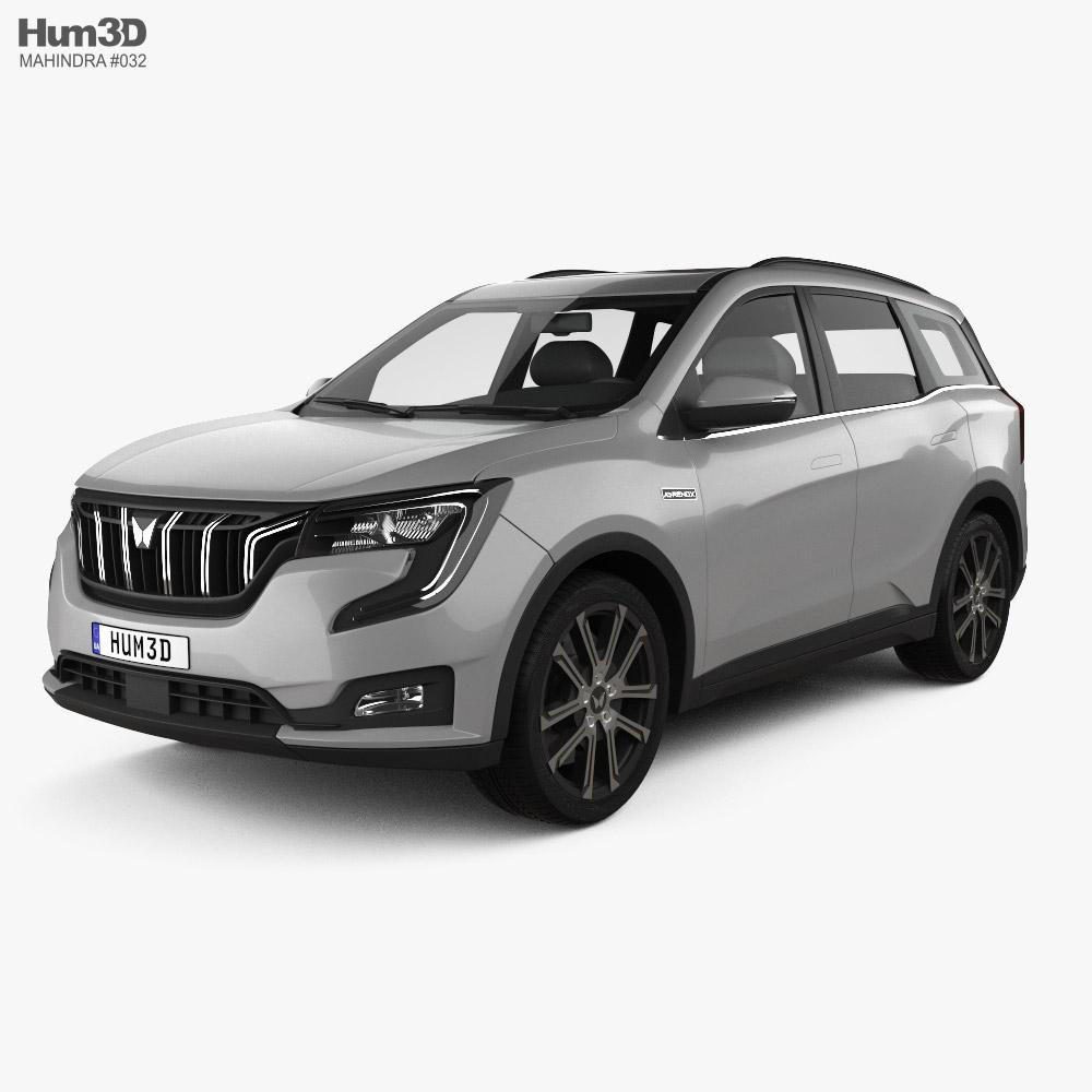 Mahindra XUV700 2021 3D model