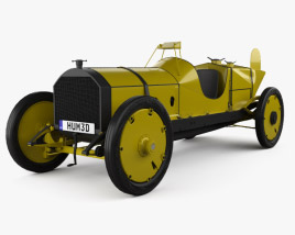 3D model of Marmon-Herrington Wasp 1909