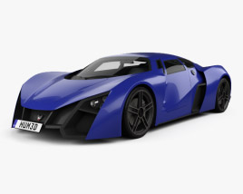 3D model of Marussia B2 2010
