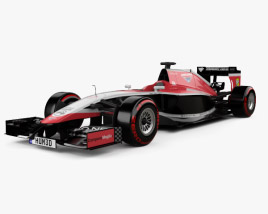 3D model of Marussia MR03 2014