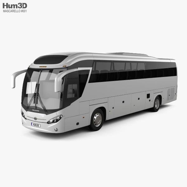 Mascarello Roma R6 Bus 2019 3D model