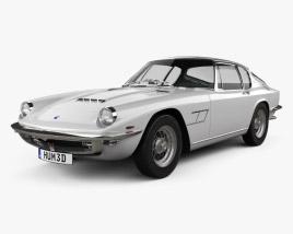 3D model of Maserati Mistral 1970