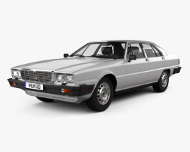 3D model of Maserati Quattroporte (Royale) 1979