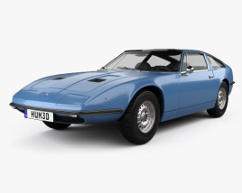 3D model of Maserati Indy 1969