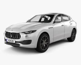 3D model of Maserati Levante 2017