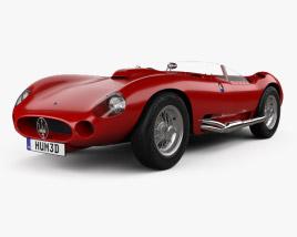 3D model of Maserati 450S 1956