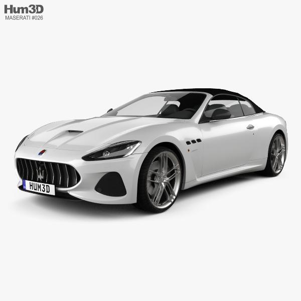 Maserati GranCabrio MC 2017 3D model