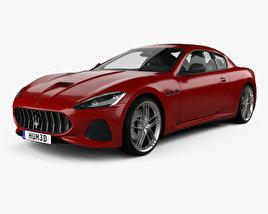 3D model of Maserati GranTurismo MC 2017