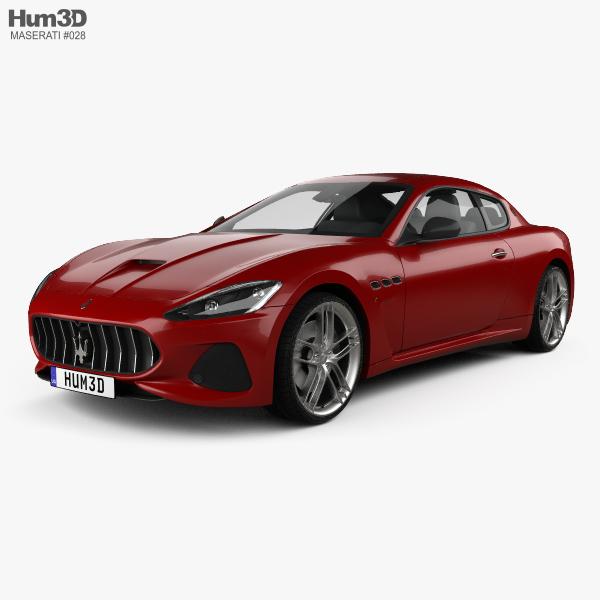 Maserati GranTurismo MC 2017 3D-Modell