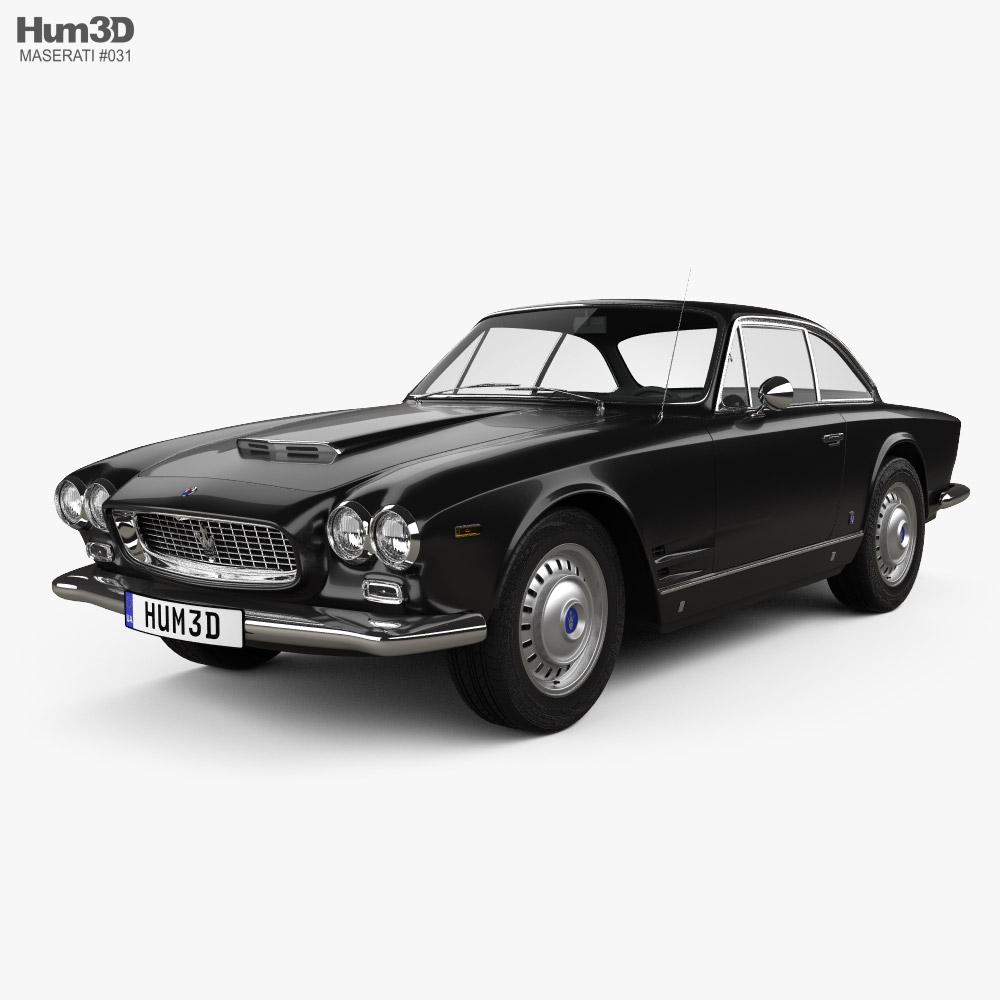 3D model of Maserati 3500 GTi Sebring 1965