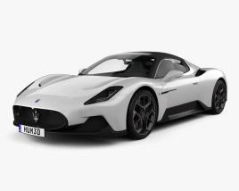 3D model of Maserati MC20 2021