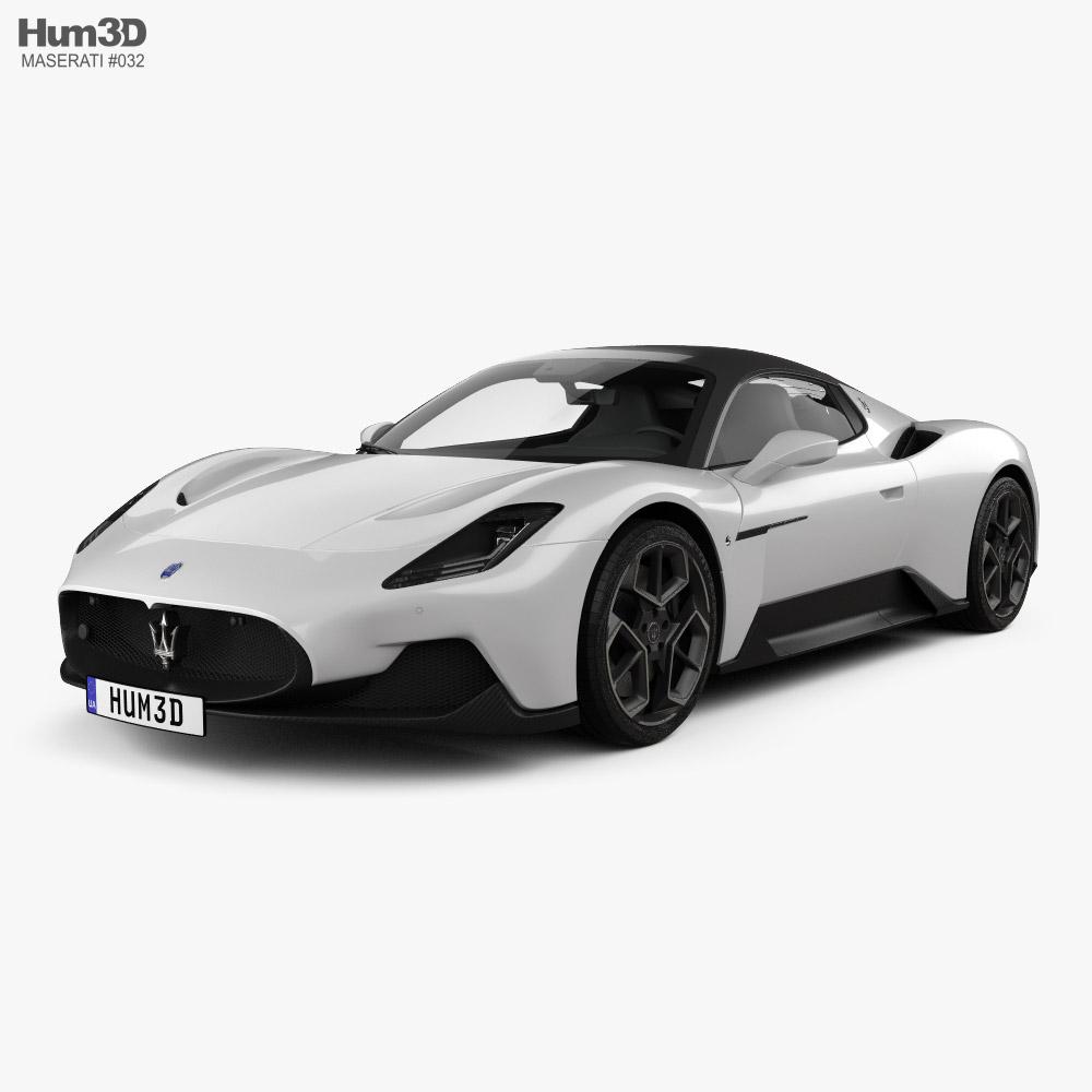 Maserati MC20 2021 3D model