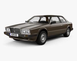 Maserati Biturbo coupe with HQ interior 1982 3D model