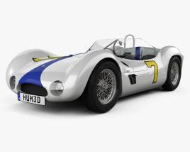Maserati Tipo 61 Birdcage 1960 3D model