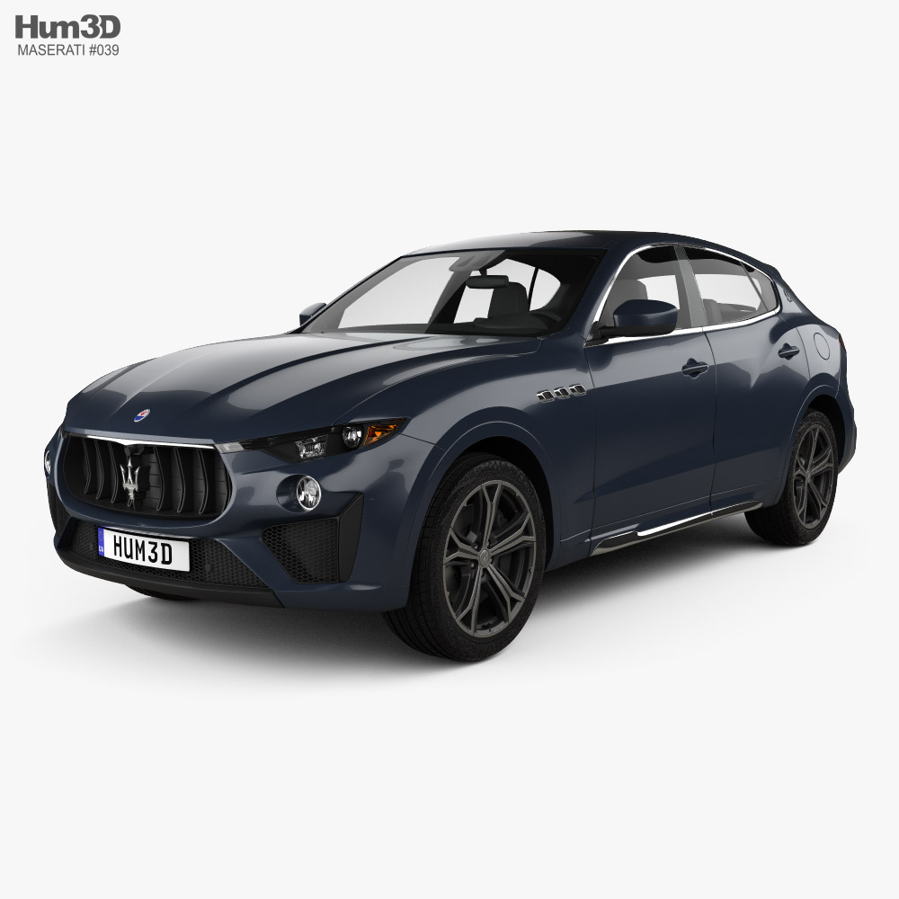 Maserati Levante Trofeo 2019 3D model