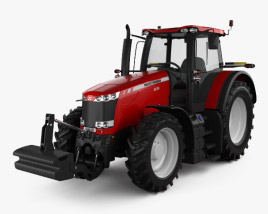 3D model of Massey-Ferguson 8690 2012