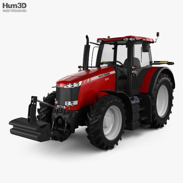 Massey-Ferguson 8690 2012 3D model