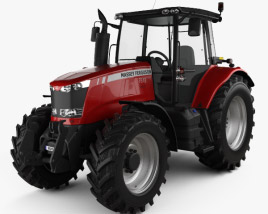 3D model of Massey-Ferguson 7618 2015