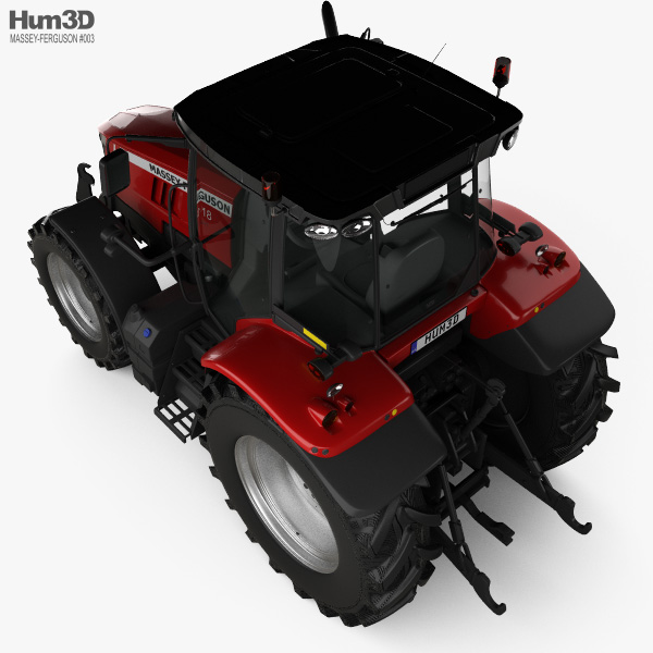 Massey-Ferguson 7618 2015 3D model