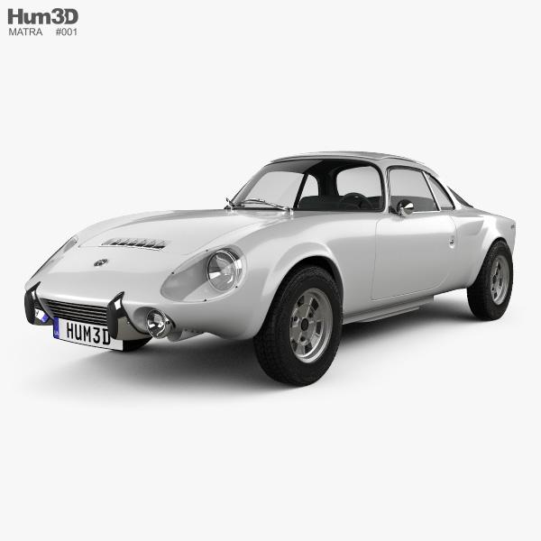 Matra Djet 1967 3D model