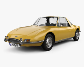 3D model of Matra 530 1967