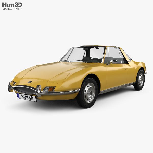 Matra 530 1967 3D model