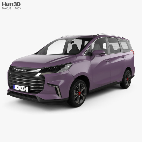 3D model of Maxus G50 2018