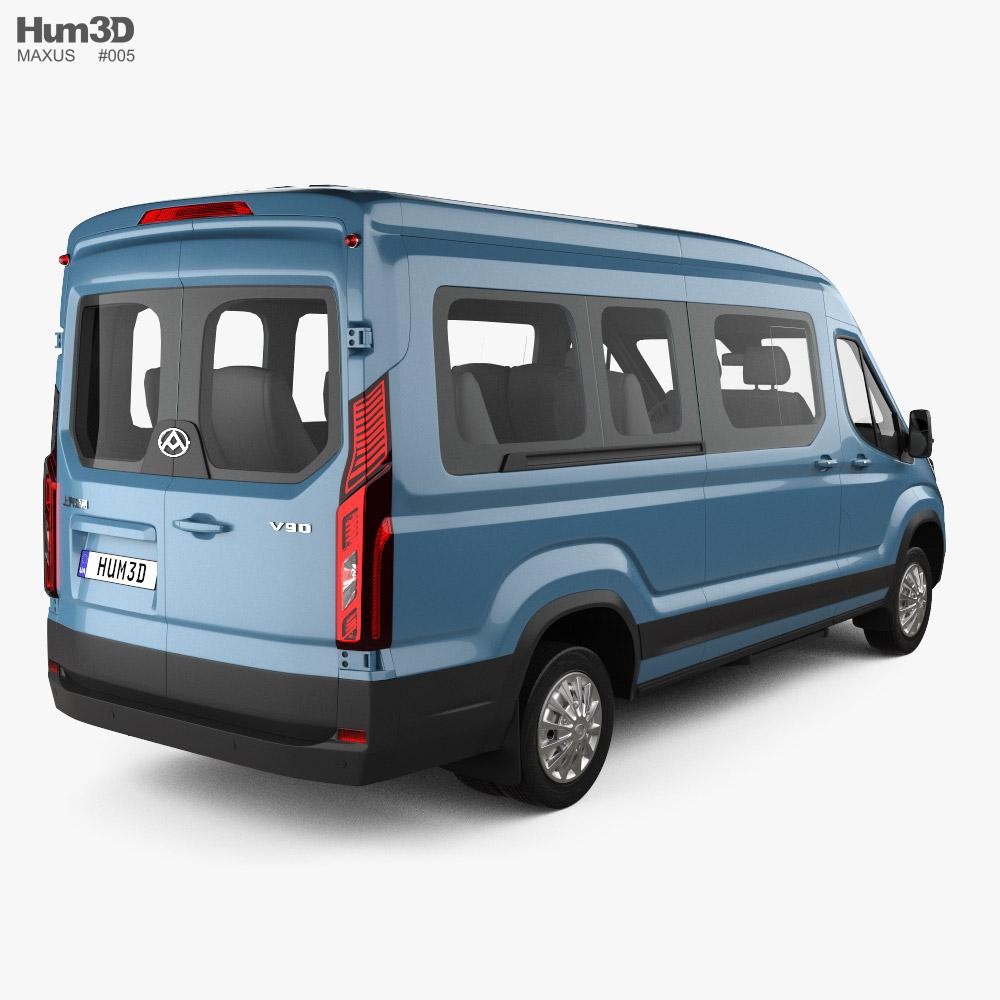 Maxus Deliver 9 L2H2 Passenger Van 2020 3D model