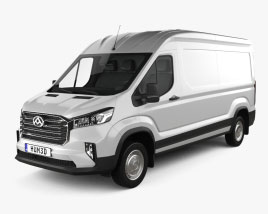 Maxus Deliver 9 Panel Van L2H2 2020 3D model