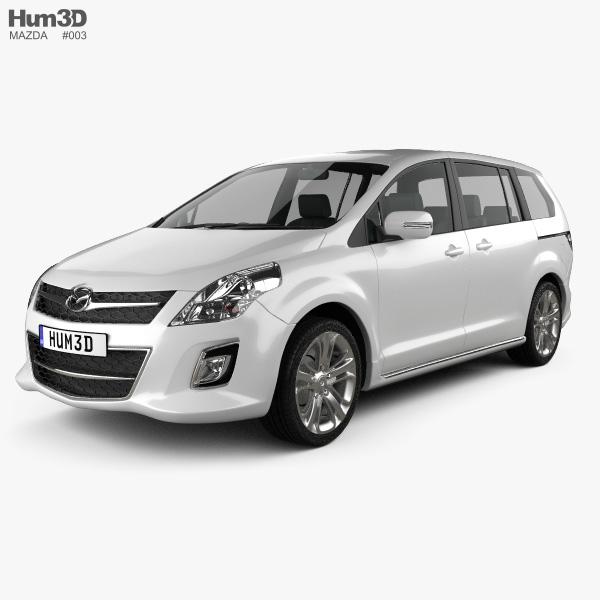 Mazda 8 MPV 2010 3D model