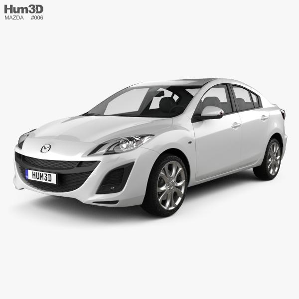 Mazda 3 Sedan 2011 3D model