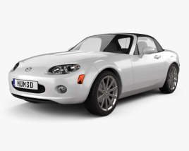3D model of Mazda MX-5 (Miata) 2009