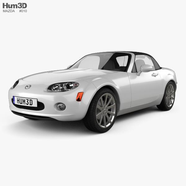 Mazda MX-5 (Miata) 2009 3D model