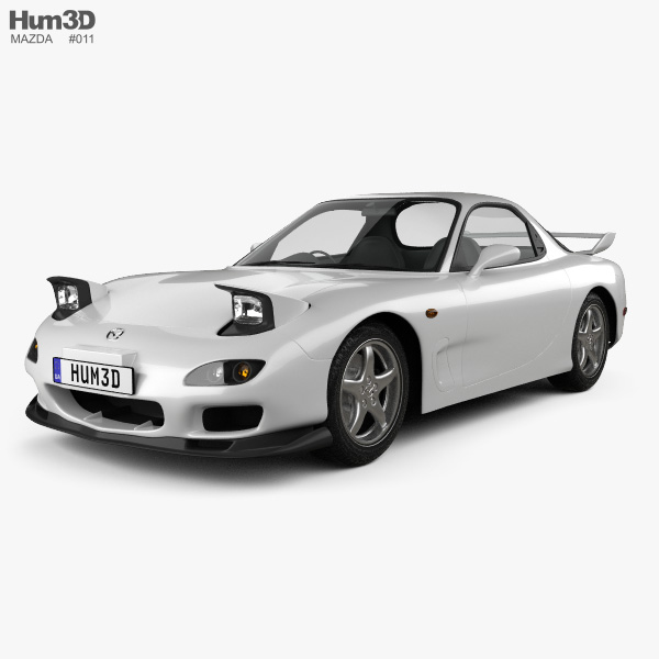 Mazda RX-7 1992-2002 3D model