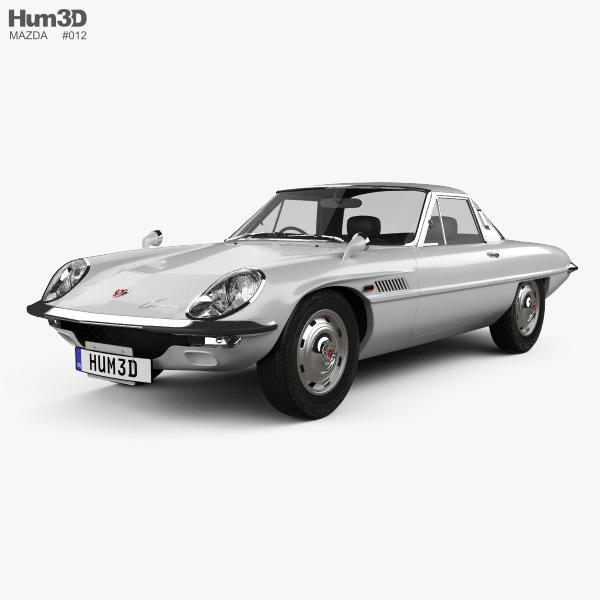 Mazda Cosmo 1967 3D model