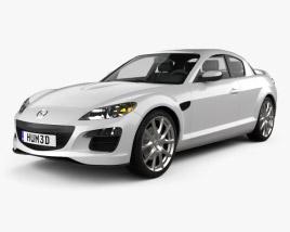 3D model of Mazda RX-8 2011