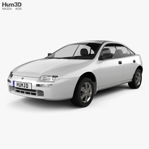 Mazda 323 (Familia) 1994 3D model