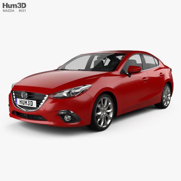 Mazda 3 sedan 2014 3D model