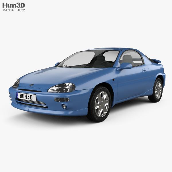 Mazda MX-3 1992 3D model