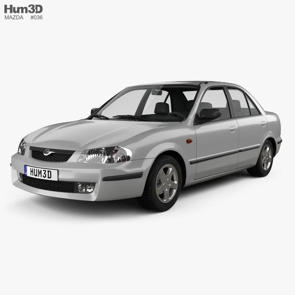 Mazda 323 (Familia) 1998 3D model