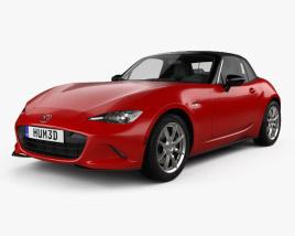 3D model of Mazda MX-5 2015