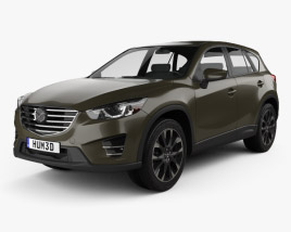 3D model of Mazda CX-5 (KE) 2016