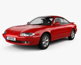 3D model of Mazda MX-6 1992