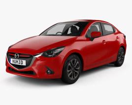 3D model of Mazda 2 (Demio) 2015